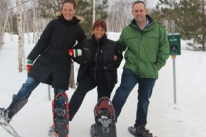 Trek for Cancer showshoe event moves to Kivi Park this year