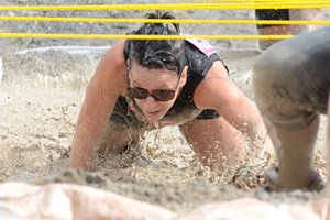 Ladies get down and dirty for cancer research