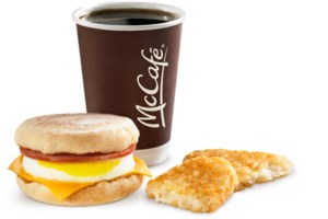 McDonald's starts serving all-day breakfasts today