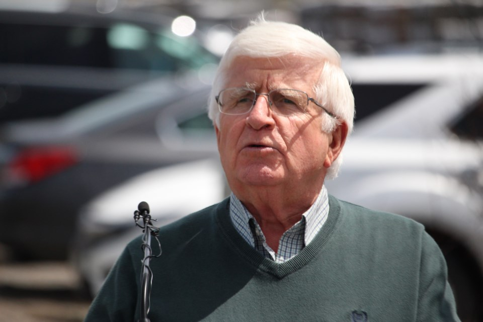 After his 1995 election as Sudbury MPP, one of the first and longest causes Rick Bartolucci championed was the four-laning of Highway 69. (Annie Duncan / Sudbury.com)