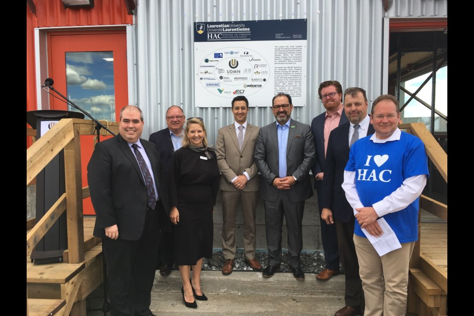 After a seven month long build, the Hydraulic Air Compressor (HAC) Demonstrator at Dynamic Earth officially opened on June 21. (Supplied)