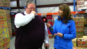 <b>Video: Watch as we surprise the Sudbury Food Bank with something big!</b>