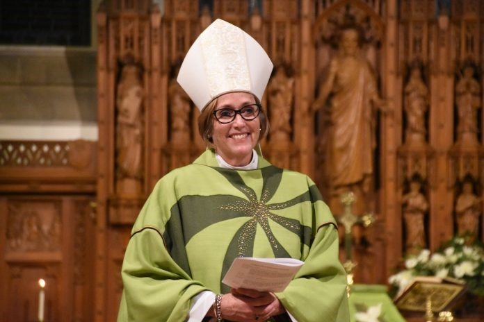 Anne Germond is the Bishop of the Diocese of Algoma. (Supplied/Anglican Journal)