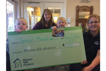 Honouring Great Aunt Bea: 7-year-old forgoes birthday gifts, gives to Hospice instead