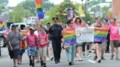 Hundreds of people show their pride during parade through downtown