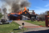 <updated>Video: </updated>Home near McFarlane Lake burns Saturday