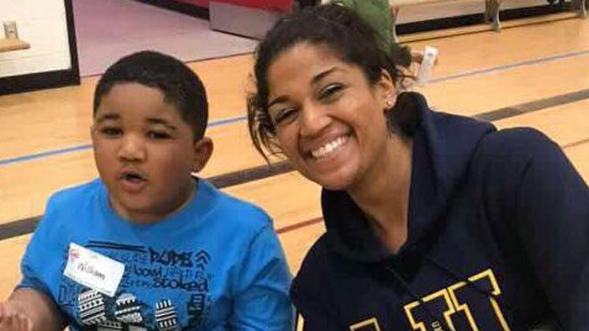 A reader provided this recent photo of William Gooden, 3, and his mother Breana Gooden. William, who has now been found safe, is believed to have been abducted by his mother Monday afternoon, and was the subject of an Amber Alert. (Supplied)