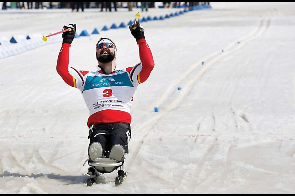 Sudbury native Collin Cameron captured a bronze medal in the 7.5-km biathlon at the Paralympics game in PyeongChang last night. 29-year-old Collin started competing merely two years ago and was the only athlete Greater Sudbury sent to the 2018 Paralympic Winter Games. (Supplied)