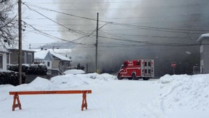 <updated>Update:</updated> Whissell Avenue fire under control, residents return home