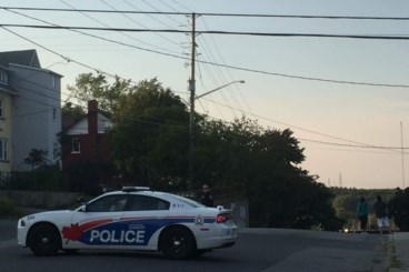 <updated>Updated: </updated>Police reopen Beatty after situation near train bridge