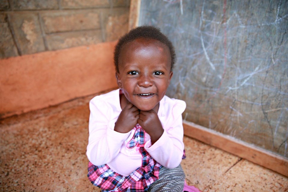 Thanks to the support of Sudburians, and through the work of Save A Child's Heart, four-year-old Faith is receiving the life-saving surgery she needs. Photo supplied