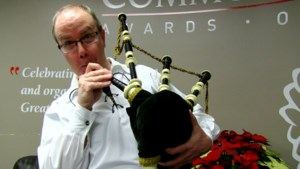 Staff Tries: MacDonald (sort of) learns the bagpipes