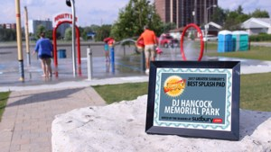<updated>Video: </updated>Summer's Best splash pad in Sudbury goes to...