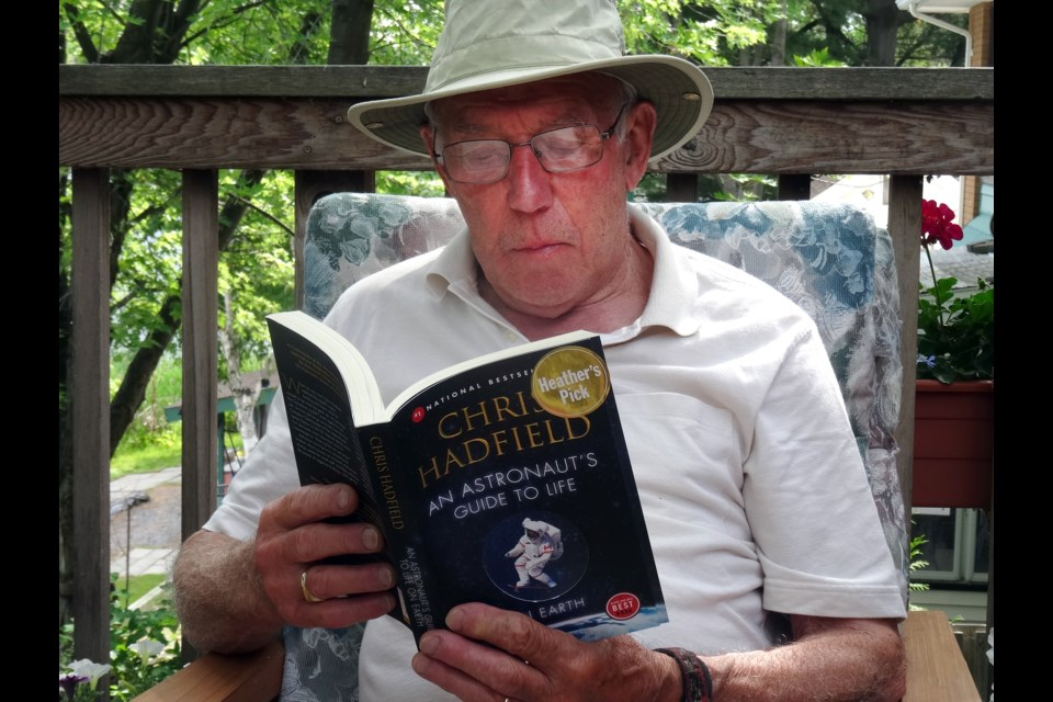 Dr. Gerard Courtin, a professor emeritus at Laurentian University, tells us what's his reading list and what books hooked him on reading, and offers a few reading recommendations for you in the latest installment of Off the Shelf. (Image: Hugh Kruzel)