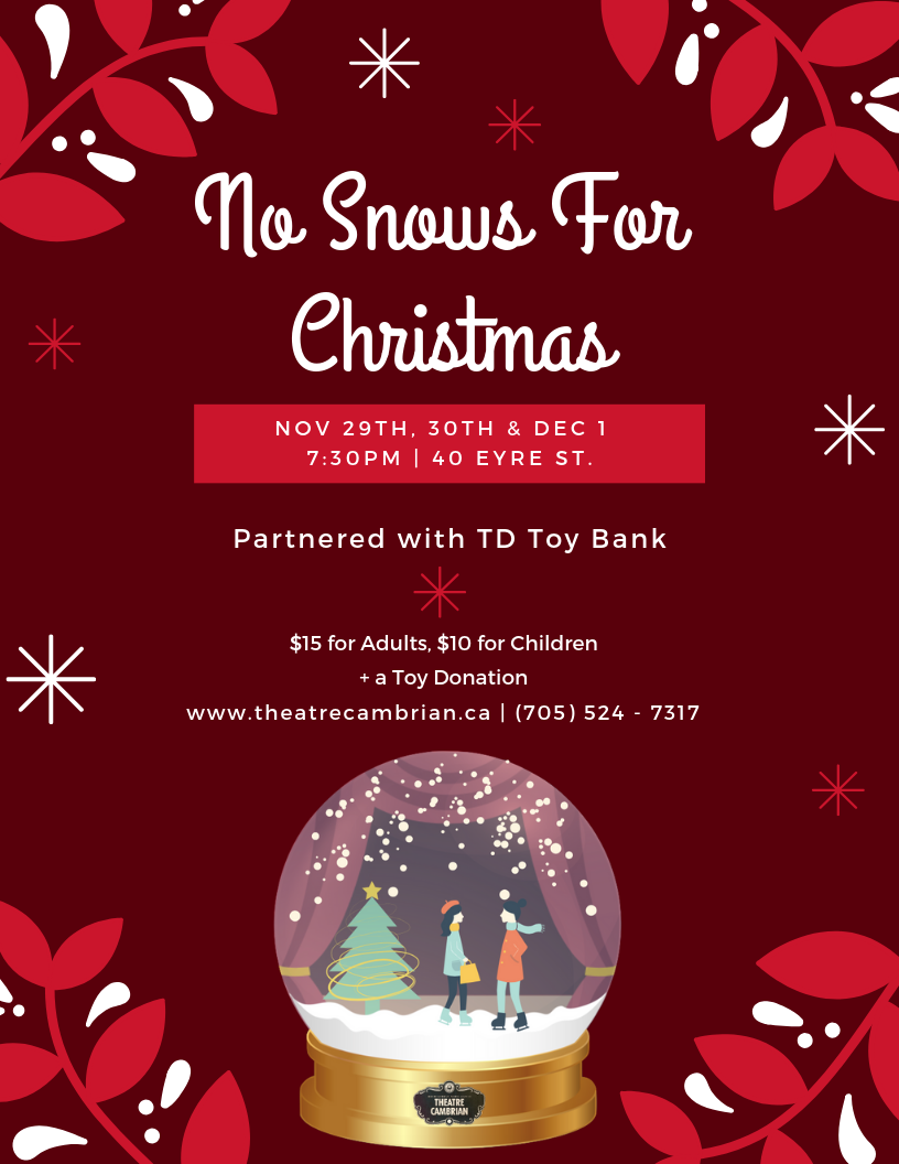 Theatre Cambrian producing Christmas play written by local teens ...