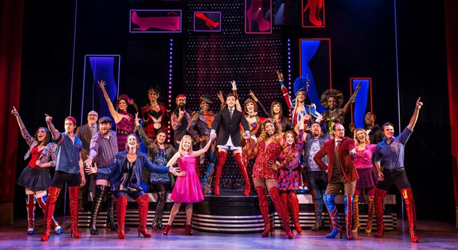 """A touring Broadway-style production of the musical """"Kinky Boots"""" visits the Sudbury Arena April 23. (Supplied)"""