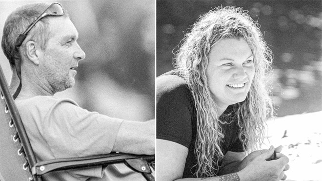 Chris Fisher and Julie Bertram are hosts of River & Sky. (Supplied)