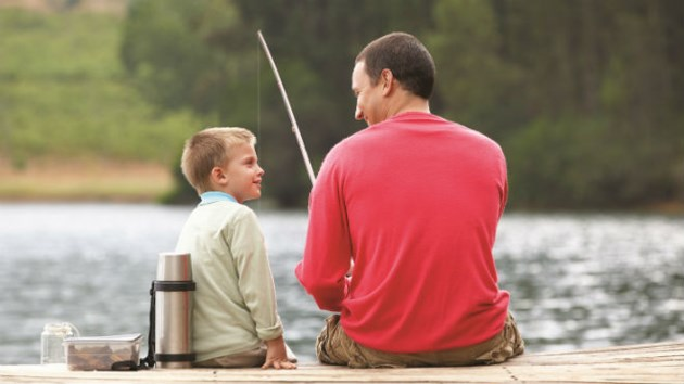 Gone fishing fish license free during family fishing for Fishing without a license