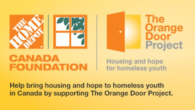 Youth centre receives big donation from home depot for Door youth centre