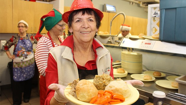 Volunteer At A Soup Kitchen For Christmas