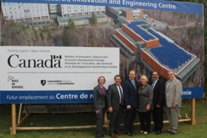 <b>Laurentian receives funding for new $60.7 million building</b>