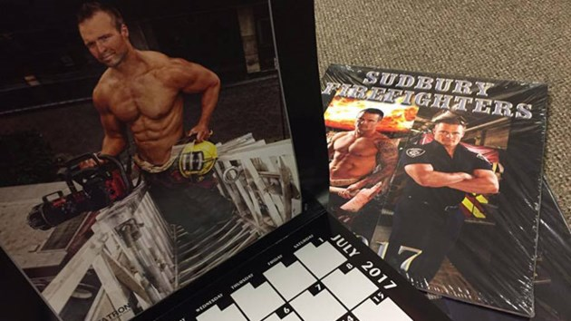 sudbury firefighters calendar now on sale