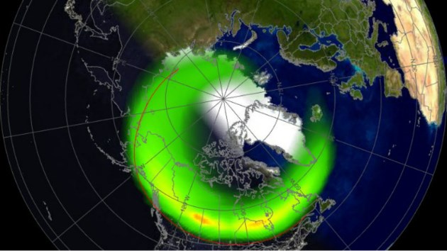 Northern lights will be dancing in the sky tonight for Chance of seeing northern lights tonight