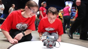 Photos: Robot challenge gears up at Science North