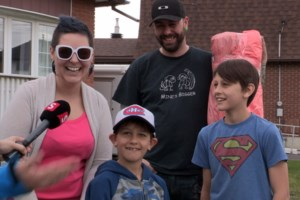 <b>Acts of Kindness: </b>Special delivery for a brain tumour survivor