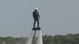 <b>Staff Tries:</b> Flyboarding on Ramsey Lake