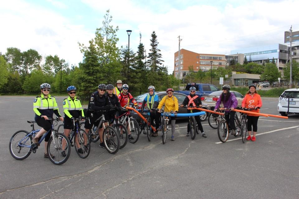 The Sudbury Cyclists Union held their second Pool Noodle Ride on Thursday, June 1.(Photo: Matt Durnan)