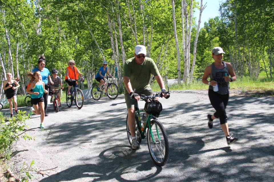 The Northern Cancer Foundation's (NCF) held theirthird annual Walk/Run/Bike for Hope at Kivi Parkon June 11. (Photo: Matt Durnan)