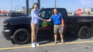 <b>Video:</b> Wes Lachapelle won himself a new truck