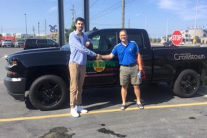 <b>Video:</b> Wes Lachapelle won himself a new truck