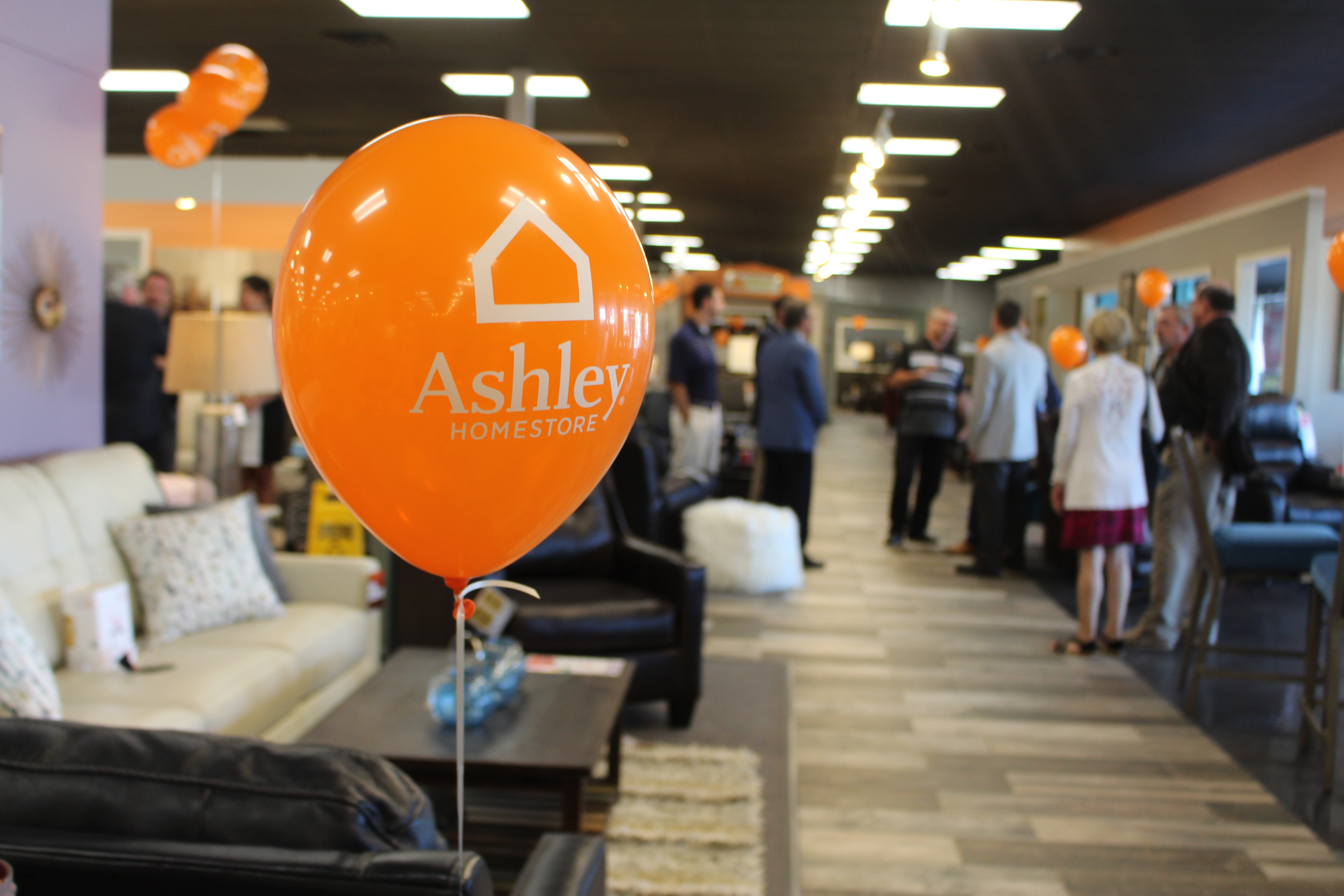 The McQueenu0027s Furniture Store Recently Underwent A Makeover And On Aug. 16,  Ashley Furniture