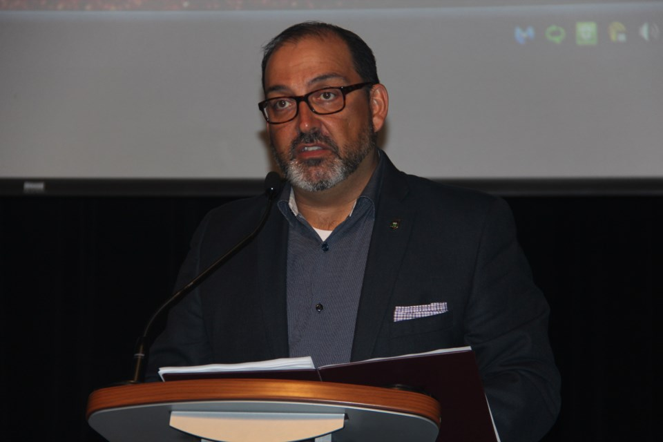 Sudbury MPP and Energy Minister Glenn Thibeault said despite its distance from Greater Sudbury, the city still stands to benefit from the development, once it gets off the ground. (Heidi Ulrichsen/Sudbury.com)
