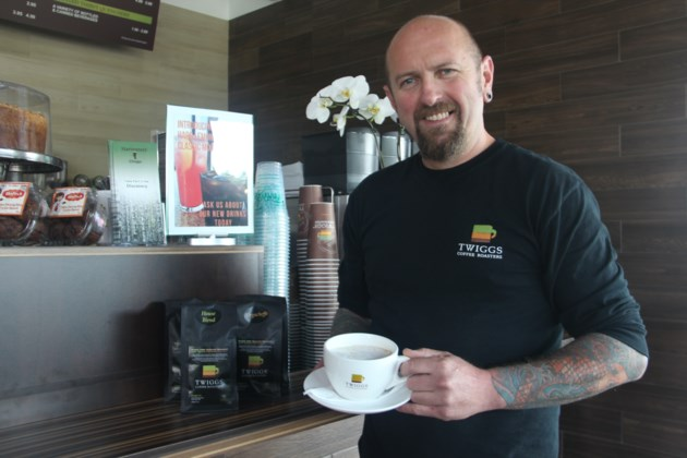 North bay entrepreneur brings twiggs coffee franchise to for Franchise ad garage