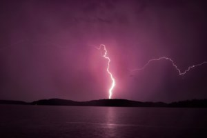 Light show: Thunderstorm lights up the night sky across Greater Sudbury