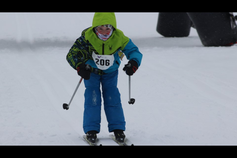 Northern Cancer Fund hosts its inaugural ski loppet at Kivi Park . (Gia Patil)