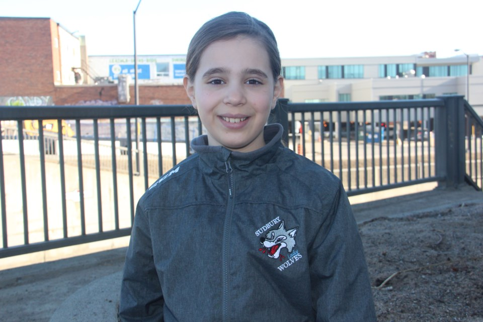 Daniela Grottoli is one of the finalists in the Eye Level Oratacular speech competition. (Heidi Ulrichsen/Sudbury.com)