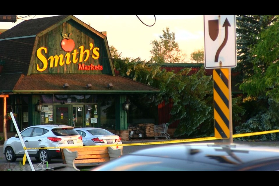 It's been a rough 48 hours for Greg Smith, owner of Smith's market on Lasalle Boulevard, as his store caught the brunt of a violent storm on July 9.