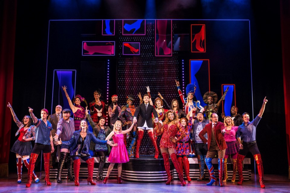 "A touring production of ""Kinky Boots"" visits the Sudbury Arena April 23. (Supplied)"