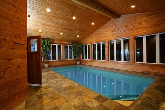 Indoor pool at Touch of Heaven (Supplied).