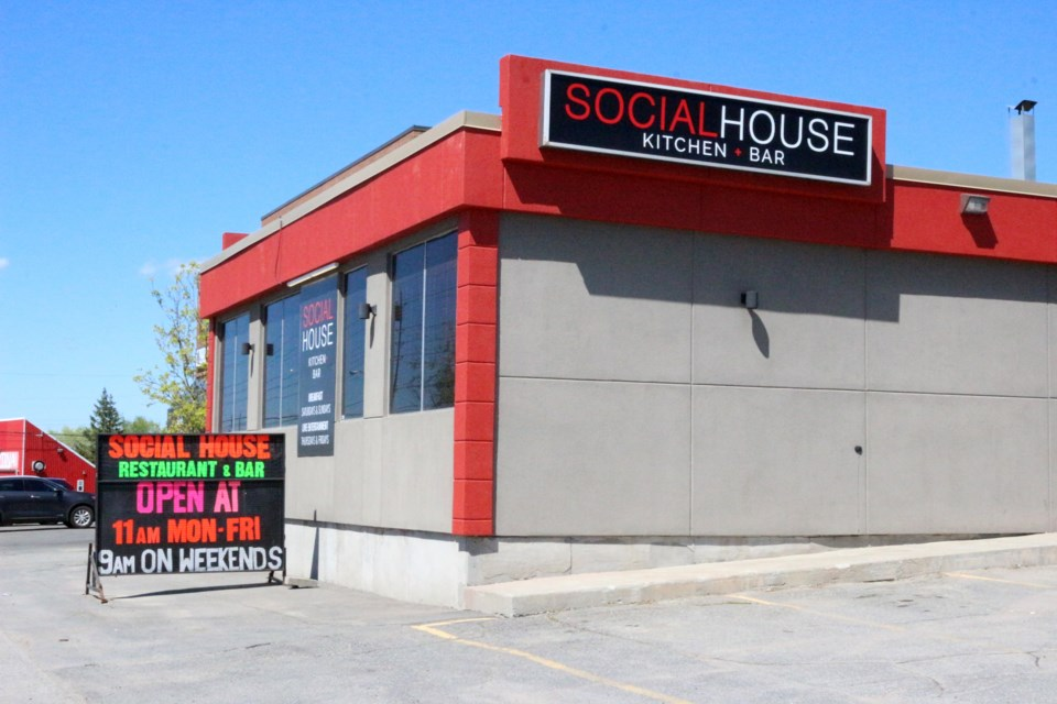 Social House Kitchen + Bar is located at 830 Barrydowne Rd. in New Sudbury. (Heather Green-Oliver/Sudbury.com)