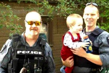 <b>Police rescue lost toddler with help from canine unit</b>