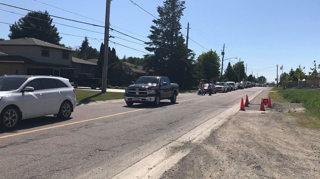 Greater Sudbury Police have barricaded off a section of Falconbridge Road at Pilotte Road after a fatal collision this afternoon.