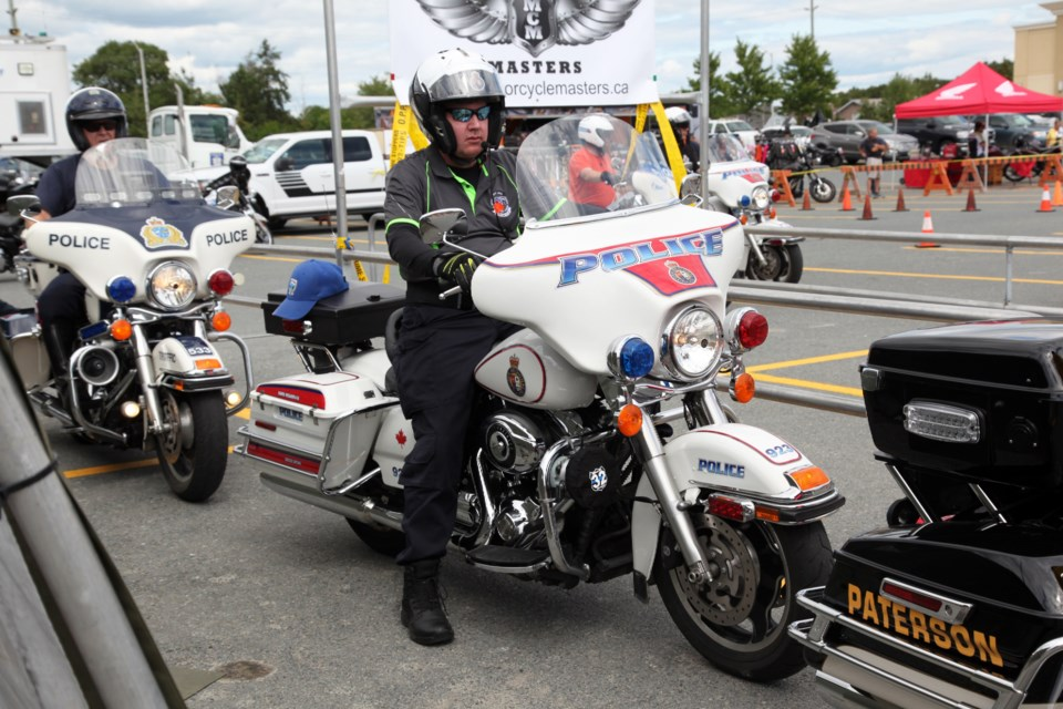 Greater Sudbury Police Service will host the Great Lakes Police Motorcycle Training Seminar beginning Wednesday, Aug. 14 and concluding on Saturday, Aug. 17 in the parking lot of the Walmart in the South End. (File)