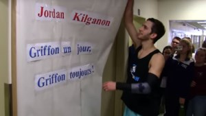 Kilganon honoured at his former high school
