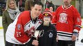 <b>Photos: Firefighters face off at benefit hockey game for Hudson</b>