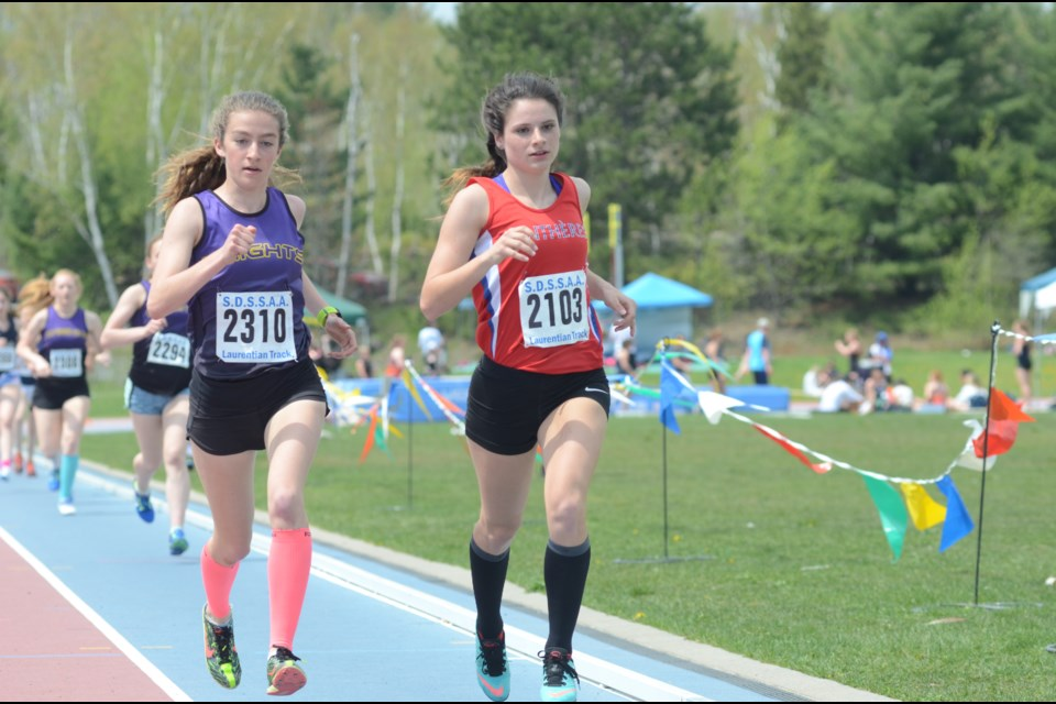 The nicest day of 2017, to date, greeted the 2017 SDSSAA Track & Field Championships at Laurentian University on Wednesday(Photo: Arron Pickard)
